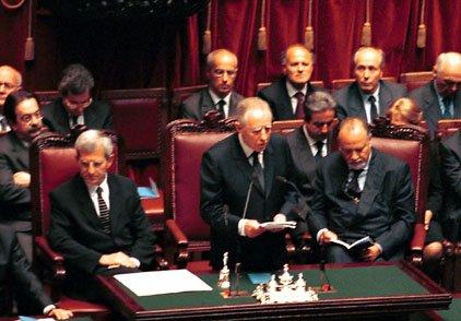 Pillole di storia della repubblica italiana ciampi la for Parlamento della repubblica italiana